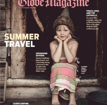 May 2019 cover of Boston Globe magazine
